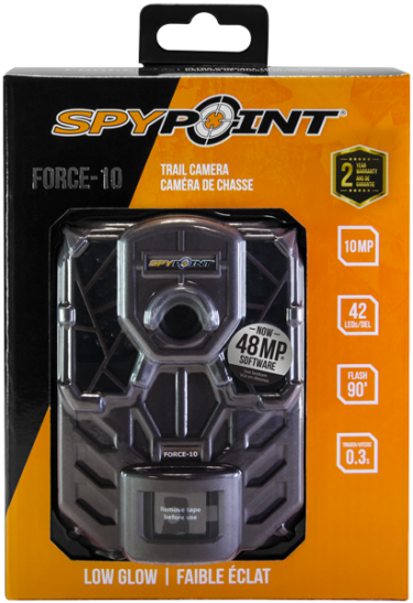 Spypoint FORCE-10 Ultra Compact Trail Camera Brown