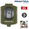 Praktica Military Waterproof Shockproof Lensatic Prismatic Compass