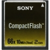 Sony 2GB Compact Flash X66 Memory Card