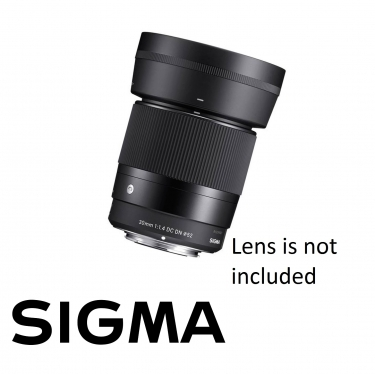 Sigma Lens Hood LH586-01 for 30mm F1.4 DC DN