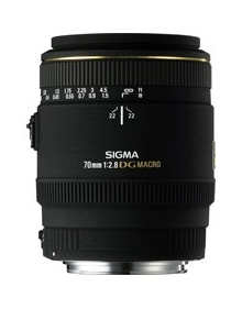 Sigma 70mm F2.8 EX MACRO DG For Canon AF Cameras