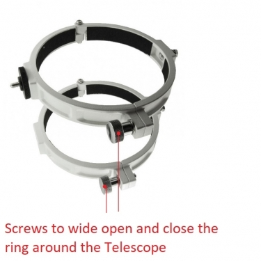 Sky-Watcher Tube Ring Set for 200mm Newtonian Reflectors