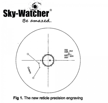Skywatcher HM5 Polar Alignment Scope For EQ5 Equatorial Mount