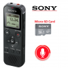Sony ICD-PX470 4GB Digital Voice Recorder Black