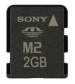 Sony 2GB Memory Stick Micro M2 Kit