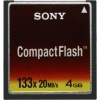 Sony 4GB CompactFlash X133 Memory Card