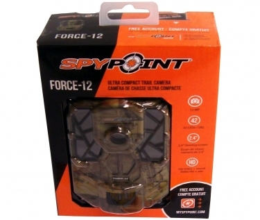 SpyPoint 12MP Force-12 IR Trail Camera