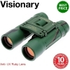 Visionary DX 10x25 Camouflage Ruby Lens Binocular