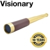 Visionary Fieldspy Vintage 25×30 Brass Draw Tube Monocular