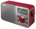 Sony XDR-S60DBP DAB+/DAB/FM Digital Radio - Red