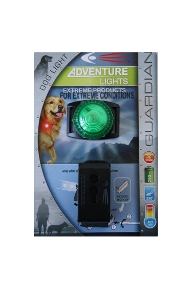 Adventure Lights Guardian Dog Light Green London Uk