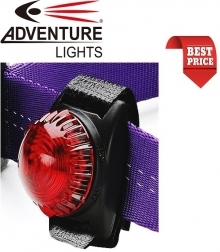 Adventure Lights Guardian Dog Light Red