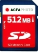 Agfa Photo 512MB SD Memory Card
