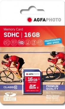 Agfa Photo 16GB SDHC Professional High Speed Memory Card