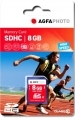Agfa Photo 8GB Secure Digital High-Capacity (SDHC) memory card