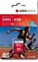 AgfaPhoto SDHC 8GB High Speed Class 10, MLC Memory Card