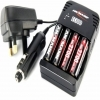 Ansmann EC 800 Charger With 4x AA 2700mAh Batteries