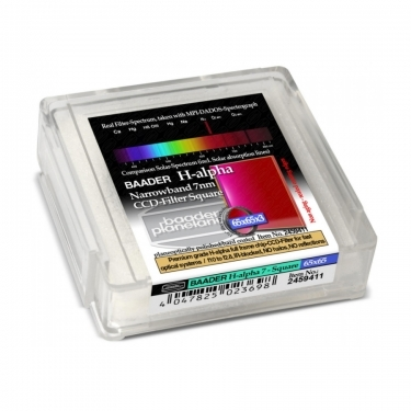 Baader 65x65mm H-Alpha 7nm CCD Narrowband Square Filter