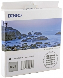 Benro SD ND4(S) 100x100mm Neutral Density 4.0 WMC Filter