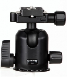 Benro N2 Dual Action Ball Head With PU60 Quick Release Plate
