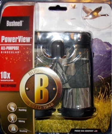 Bushnell Powerview Realtree AP Camouflage 10x42 Binocular
