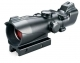 Bushnell Trophy 1x32 Riflescope Matte Black Red & Green T-Dot Reticle