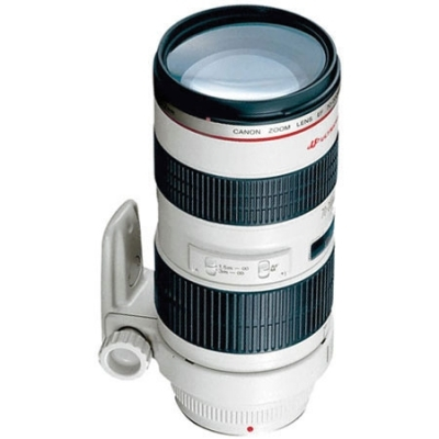 CANON EF 70-200Mm F2.8L USM AutoFocus Telephoto Zoom Lens with Case & Hood