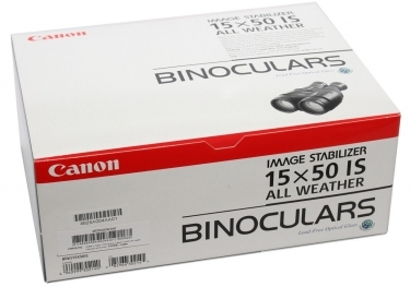 Canon 15x50 IS, Weather Resistant Image Stabilised Binocular
