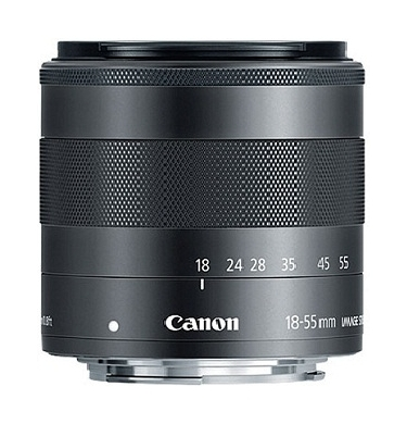 Canon EF-M 18-55mm F3.5-5.6 STM IS M-Mount Lens