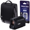 Canon Legria HF R806 Camcorder Kit inc 32GB SD Card and Case - Black