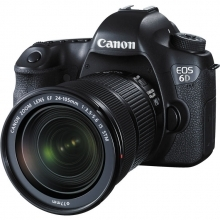 Canon EOS 6D DSLR Camera With 24-105mm F3.5-5.6 STM Lens