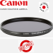 Canon 82mm Circular Polarizing Filter PLC B filter