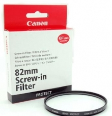 Canon Lens Filters Protect 82mm Filter