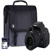 Canon EOS 700D Black Camera Kit
