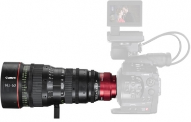 Canon CN-E 14.5-60mm T2.6 L S Cinema Zoom Lens with EF Mount