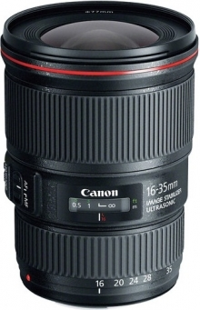 Canon EF 16-35mm F4L IS USM Lens