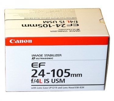 Canon EF 24-105mm F4 L IS USM Standard Zoom Lens