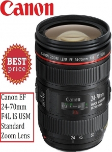 Canon EF 24-70mm F4L IS USM Standard Zoom Lens