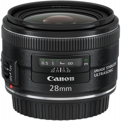Canon EF 28mm f2.8 IS USM Wide Angle Lens