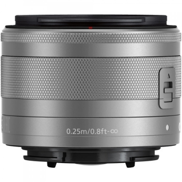 Canon EF-M 15-45mm f/3.5-6.3 IS STM Lens - Silver