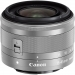 Canon EF-M 15-45mm F3.5-6.3 IS STM Lens - Silver