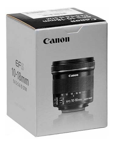 Canon EF-S 10-18mm F4.5-5.6 IS STM Ultra Wide Zoom Lens