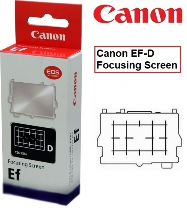 Canon EF-D Focusing Screen For EOS 40D and 50D SLR Camera