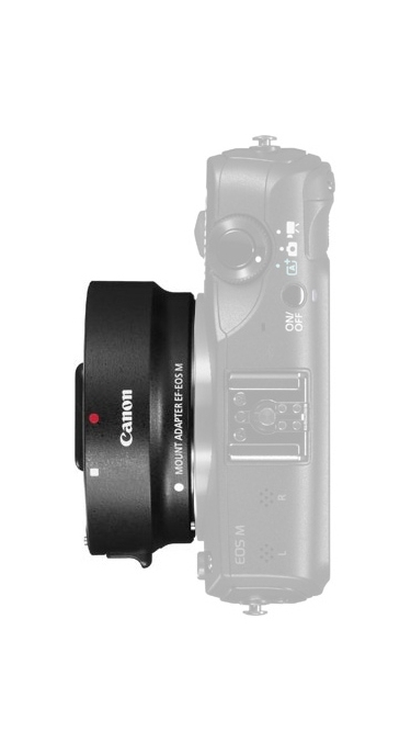 Canon EF-M Lens Adapter Kit For Canon EF/EF-S Lenses