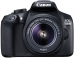 Canon EOS 1300D 18MP Wi-Fi DSLR Camera With 18-55mm Lens Black