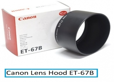 Canon Lens Hood ET-67B for the EFS 60mm F/2.8 USM Macro Lens