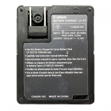 Canon LC-E8 Battery Charger