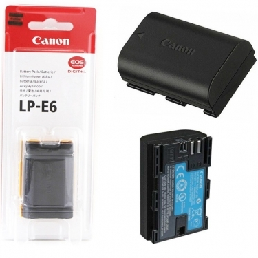 Canon LP-E6N Lithium-Ion Battery Pack For 7D MK II Camera
