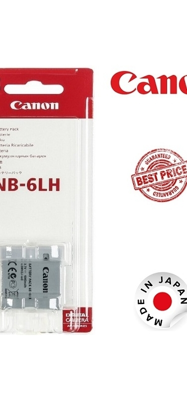Canon NB-6LH Lithium-Ion Battery Pack