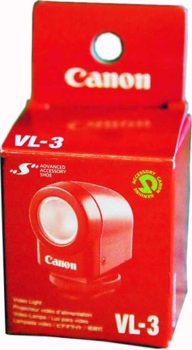 Canon VL-3 Video Light for Camcorders
